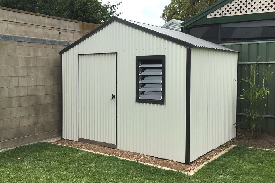 heavy duty gable roof shed - Garden Sheds Adelaide