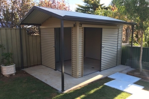 a wide selection of our sheds aviaries and fencing including our custom made jobs - Garden Sheds Adelaide
