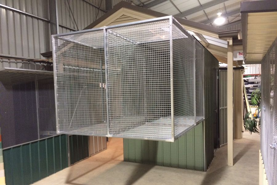 Suspended Aviaries Tj Sheds